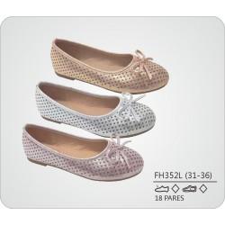 DKV-FH352L calzado de infantil al por mayor Francesitas