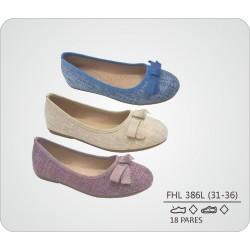 DKV-FH386L calzado de infantil al por mayor Francesita textura