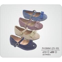 DKV-FH386M calzado de infantil al por mayor Francesita textura