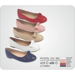 DKV-FH355L calzado de infantil al por mayor Francesitas