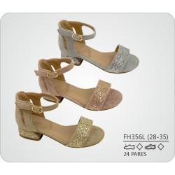 DKV-FH356L calzado de infantil al por mayor Sandalias mini