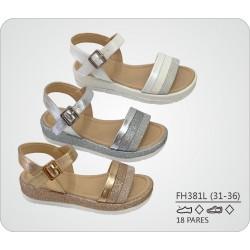 DKV-FH381L calzado de infantil al por mayor Sandalias detalle
