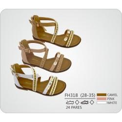DKV-FH318 calzado de infantil al por mayor Sandalias tiras con