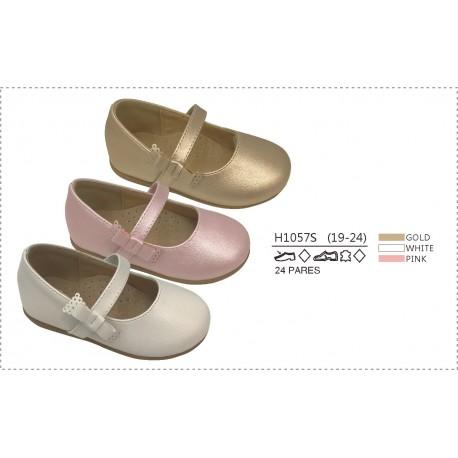 DKV-H1057S calzado de infantil al por mayor Merceditas acabado
