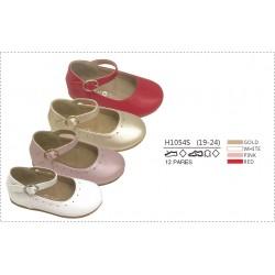 DKV-H1054S calzado de infantil al por mayor Merceditas acabado