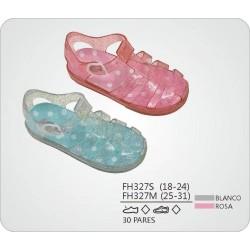 DKV-FH327S-1 calzado al mayor Sandalias playeras plantilla