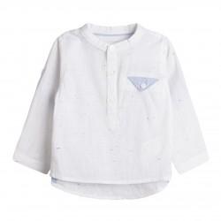 Camisa cuello mao con bosillo almacen mayorista de ropa