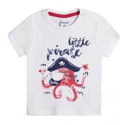 Camiseta pulpo pirata almacen mayorista de ropa infantil, ropa
