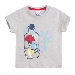 Camiseta botella plástica de animales del mar almacen mayorista