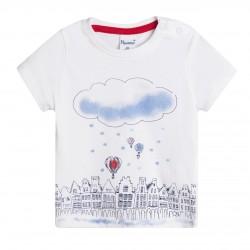 Camiseta cuidad nube grande almacen mayorista de ropa infantil