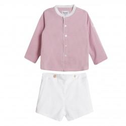 BBV90002 Comprar ropa al por mayor Conjunto pantalon y camisa