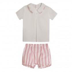 BBV90005 Comprar ropa al por mayor Conjunto pantalon y camisa