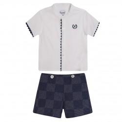BBV90007 Comprar ropa al por mayor Conjunto pantalon y camisa