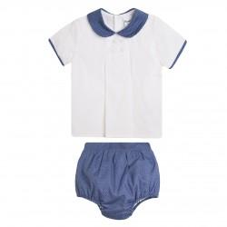 BBV90008 Comprar ropa al por mayor Conjunto pantalon y camisa