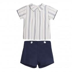 BBV90079 Comprar ropa al por mayor Conjunto pantalon y camisa
