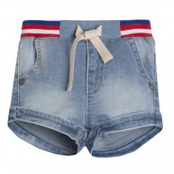 Pantalon short vaquero con cintura rip almacen mayorista de