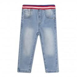 Pantalon vaquero largo con cintura rip almacen mayorista de