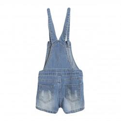BBV59084 Comprar ropa al por mayor Peto corto vaquero