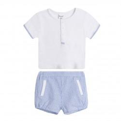 NBV99156 Comprar ropa al por mayor Conjunto cuello mao y short