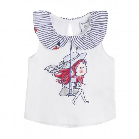 BGV69520 Comprar ropa al por mayor Camiseta cuello tejido