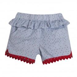 Pantalon short volante almacen mayorista de ropa infantil, ropa