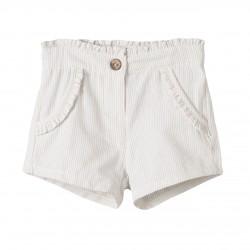 BGV99549 Comprar ropa al por mayor Pantalon short rayas con