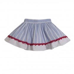 Falda de fiesta rayas almacen mayorista de ropa infantil, ropa