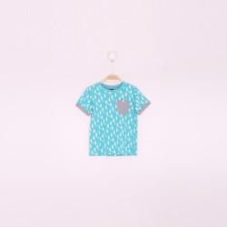 Camiseta mc niño-SMV-191145-VERDE NILO-Street Monkey