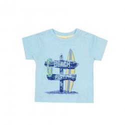 Camiseta mc bebe niño-SMV-181023-CELESTE-Street Monkey