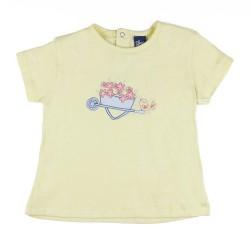 SMV-181032-AMARILLO Mayorista de ropa infantil Camiseta mc