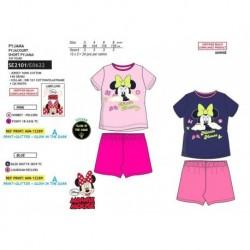 Pijama corto fosforescente 100% algodón-SE2101-MINNIE almacen