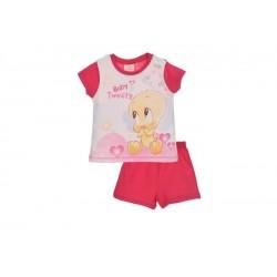Pijama corto 100% algodón-SCI-ER0332-TWEETY almacen mayorista