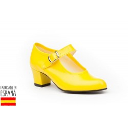 Zapato flamenca hebilla-ANGV-302-Angelitos almacen mayorista de