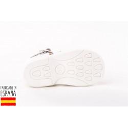 Sandalia talón alto troquelada-ANGV-928-Angelitos almacen