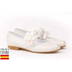 Bailarina flor encaje&tul ceremonia-ANGV-992-Angelitos almacen