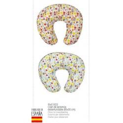 Almohada lactancia bear 65x55 cm-IBV-923-Interbaby