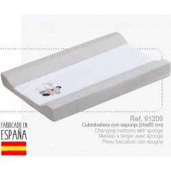 Cubrebañeras con esponja mod amigos-IBV-91209-Interbaby almacen