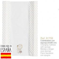 Cubrebañeras con esponja mod nature-IBV-91759-Interbaby almacen