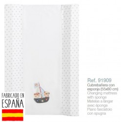 Cubrebañeras con esponja mod pirata-IBV-91909-Interbaby almacen