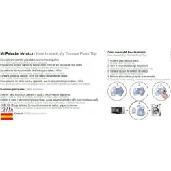 Peluche termico mod oso-IBV-PE007-Interbaby