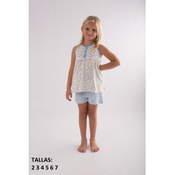 "Pijama inf. niña s/m-p/c ""lemons and"