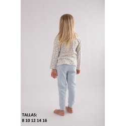 "Pijama inf.niña m/l-p/l ""lemons and"