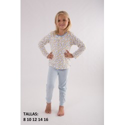 "Pijama niña m/l-p/l ""lemons and"