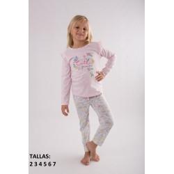 """Pijama niña m/l-p/l """"spring""""-TAV-20117802-85-Tobogan"""