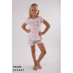 """Pijama niña m/c-p/c """"spring""""-TAV-20117801-85-Tobogan"""