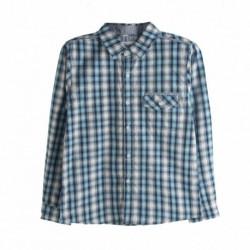 Comprar ropa de niño online Camisa de cuadros azules - Newness