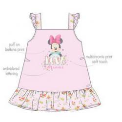 TMBB-ER5385 venta al por mayor de ropa infantil Vestido MINNIE