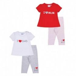 LamaLoLi Conjunto camiseta y pantalón corto - Licencia - ALM-174025