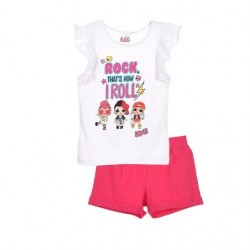 Conjunto camiseta mc & short 100% algodón-SCFV-ET1306-LOL SURPRI