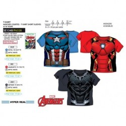 TMBB-SE1348 mayoristas de moda infantil Camiseta los vengadores